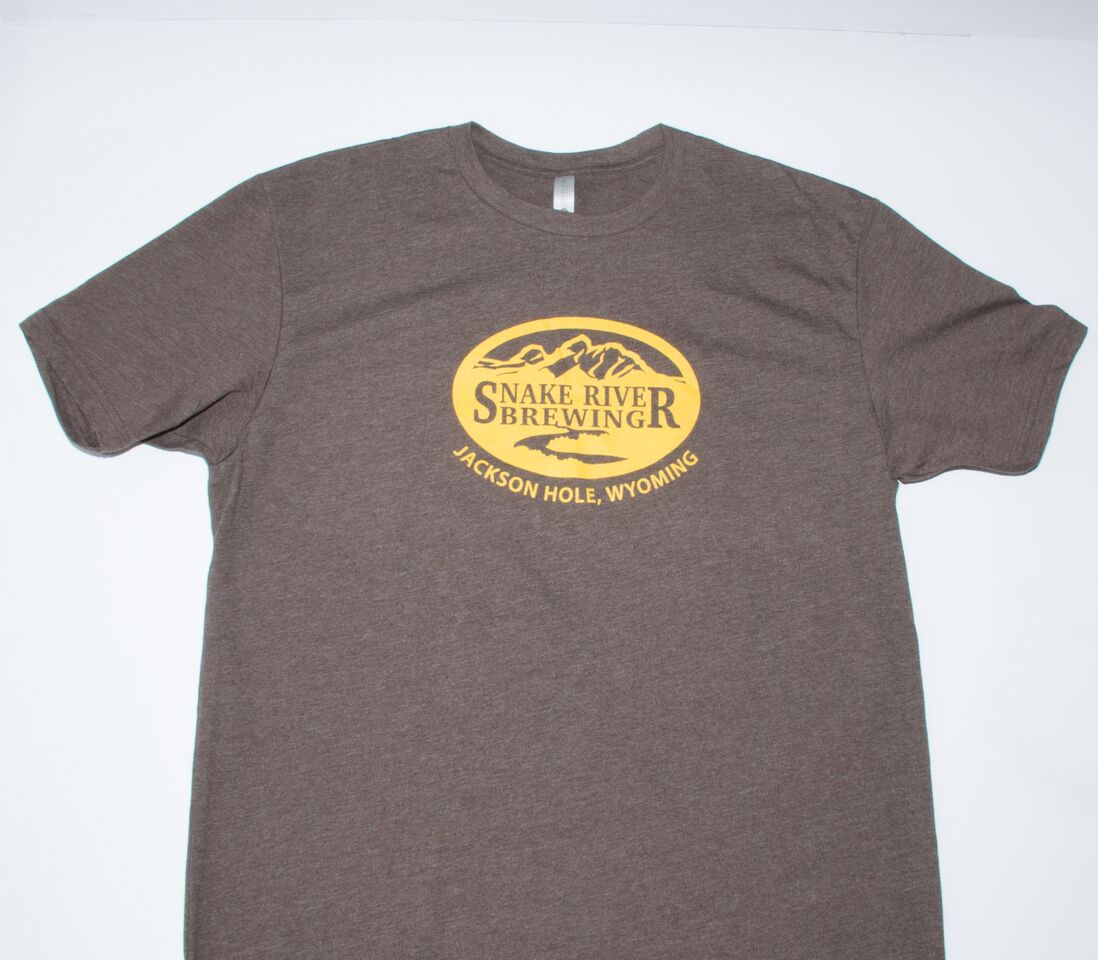 Brown & Gold Logo Tee